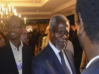 Annan urges Syria to accept terms for UN aid delivery