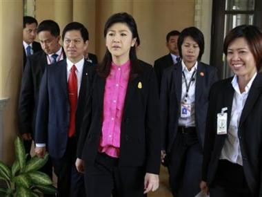 After year of peace, trickier times ahead for Thai PM