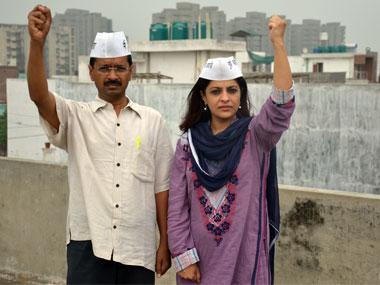 Shazia Ilmi resigns from AAP, blames 'cronyism' in party